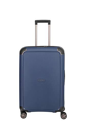 """TITAN """"COMPAX""""-Trolleys von TITAN®: stabile Hartschalen-Koffer in futuristischer Optik in 3 Farben Koffer, 67 cm, 75 l, Navy"""