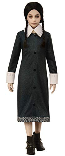 Rubie's Addams Family Animated Movie Girl's Wednesday Costume, Small