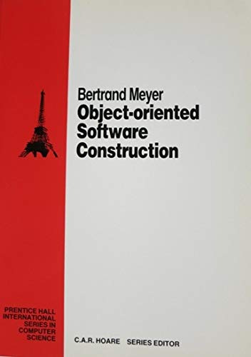 Object-oriented Software Construction (Prentice Hall International Series in Computing Science)の詳細を見る