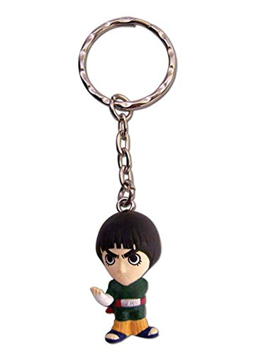Great Eastern Entertainment Naruto Lee 3D SD Keychain,Multicoloured