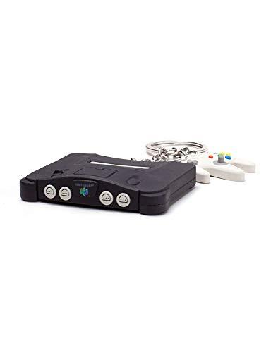 Super Mario Original N64 Mini inkl. Controller - Schlüsselanhänger | Offizielles Merchandise