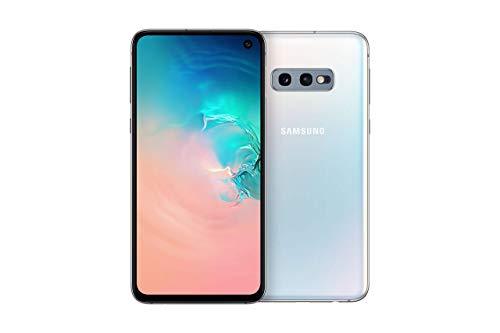 Samsung Galaxy S10e Smartphone Bundle (14.7cm (5.8 Zoll) 128 GB interner Speicher, 6 GB RAM, Dual SIM, Android, prism white) inkl. 36 Monate Herstellergarantie [Exklusiv bei Amazon] Deutsche Version
