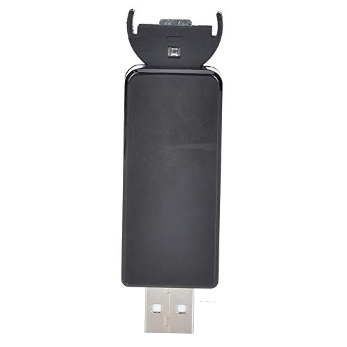 Atyhao Cargador de batería con botón USB, Cargador de batería con botón USB de 3,6 V para batería LIR2032 LIR2025 LIR2016 con luz indicadora