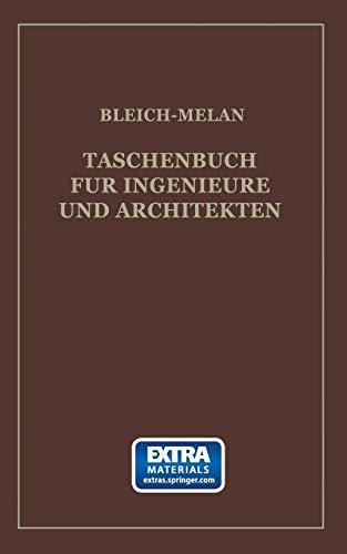 Taschenbuch für Ingenieure und Architekten