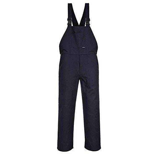Portwest Latzhose Arbeitsanzug Arbeitskleidung Student Größe S bis XXXXL C881 - Marineblau, XXL