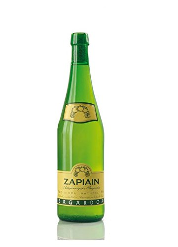 Zapiain Sidra Nature - Paquete de 6 botellas de 75 - Total 450 cl
