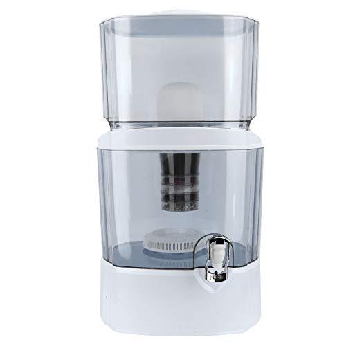 Ejoyous Filter Carafe 24L Wasserfiltrationssystem, 5-stufiger Aktivkohlefilter für Wasseraufbereiter Perfekt für Materialien in Lebensmittelqualität für das Home Office