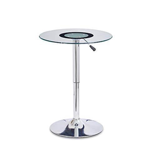 ZIJUAN Table Basse Relevable Salon en Verre Table Basse Bar Coin Repas Canapé-lit Plusieurs Tables De Rangement
