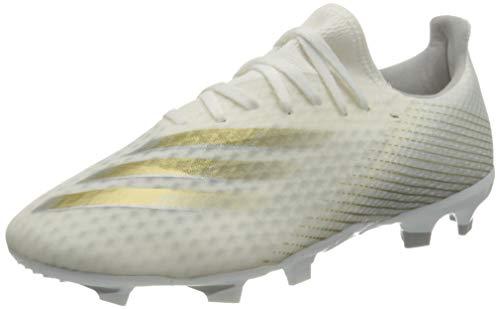 adidas X GHOSTED.3 FG, Zapatillas de fútbol Hombre, FTWBLA/OROMEZ/Plamet, 42 2/3 EU