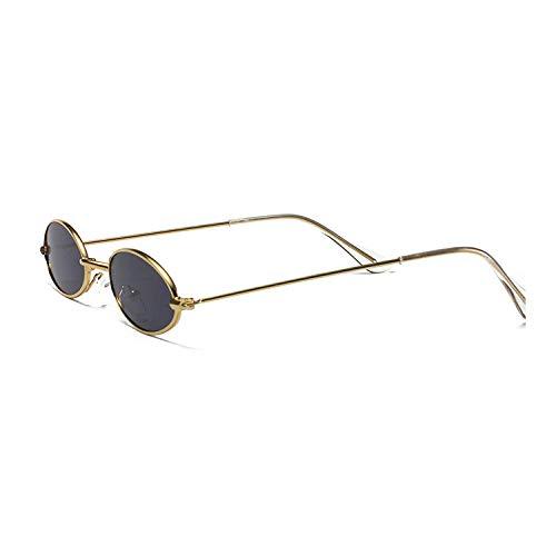 hqpaper Gafas de sol de color retro europeas y americanas, gafas de sol geniales-Silver_gray