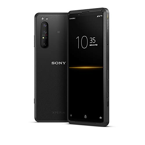 """Xperia PRO Portable High Speed Transmission Device & Smartphone with HDMI Input, 6.5"""" 4K HDR OLED Screen, 5G mmWave"""