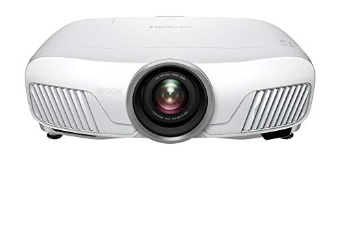 Epson EH-TW7400 3LCD, 4K Pro UHD Super Resolution, 2400 Lumens, 300 Inch Display, Motorised Optics, Home Cinema Projector - White