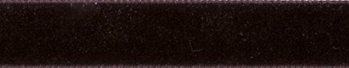 Berisfords lint fluweel, zwart koffie, 102 x 56 x 102 cm