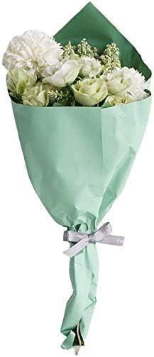 FLOWM Kunstbloemen kunstbloemen boeket pioenroos namaakbloemen handgemaakte groene plant droogbloemen tafeldecoratie bruiloft woonkamer balkon decoratie slaapkamer geschenk groen