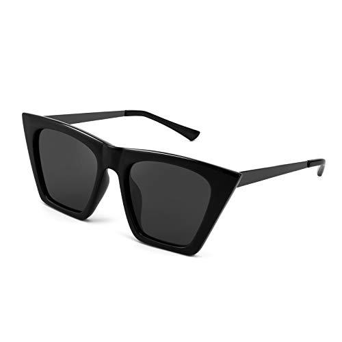 FEISEDY Gafas de sol polarizadas ojo de gato vintage de moda de las mujeres B2692