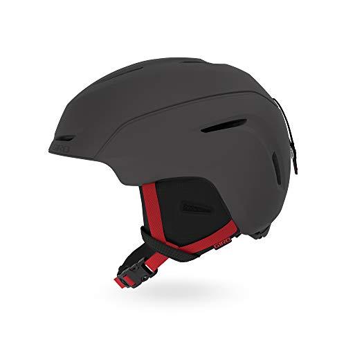 Giro Snow Unisex jeugd NEO Junior Skihelm, mat grafiet/helder rood, S