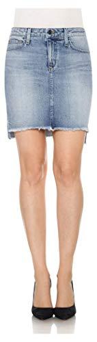 Joe's Jeans Women's High Low Pencil Jean Skirt, Reiz, 30