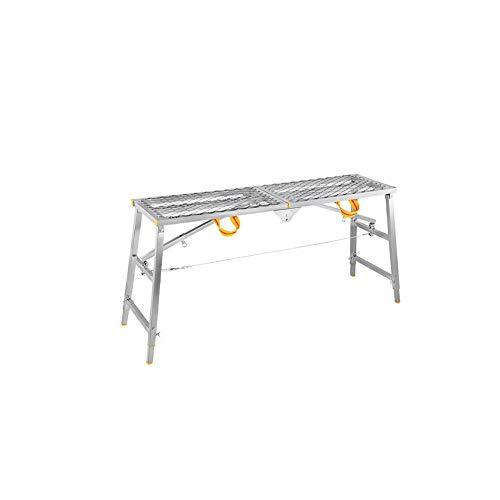 ZPWSNH Opvouwbare ladder, multifunctioneel, draagbare paardenbank, stijlen en vallen, techniek, platform, kruk, ladder, verdikking, decoratie, opstapkruk