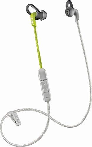 Plantronics BackBeat FIT 300 Sweatproof Sport Earbuds, Wireless Headphones, Grey/Lime