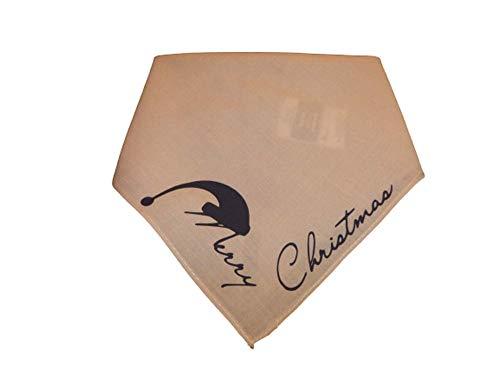 Hundehalstuch Merry Christmas Weihnachtsmütze
