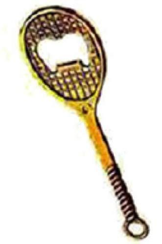 arterameferro Cavatappi in Ottone Lucido Racchetta da Tennis apribottiglie