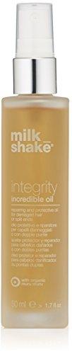 Milkshake - Aceite Integrity Incredible Oil para cabello dañado o con puntas abiertas, 50ml