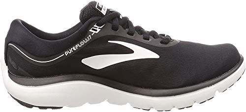 Brooks Womens PureFlow 7 - Black/White - B - 10.5