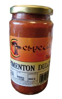 Pimentón Dulce - Especias - 170 g - 12 Und