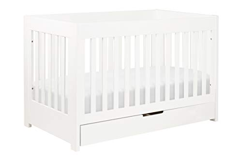 Hot Sale babyletto Mercer 3-in-1 Convertible Crib with Toddler Rail, White