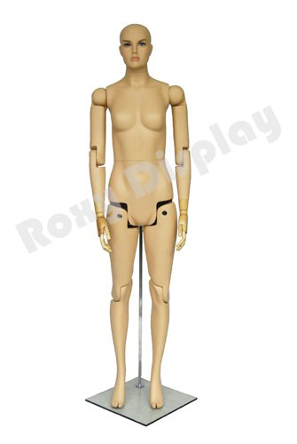 (MZ-FM01-S) ROXYDISPLAY™ Female Mannequin, Flexible Head, arms and...