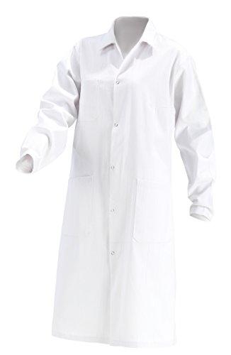 KOKOTT Damen Laborkittel B-Ware Baumwolle weiß Labor Kittel Mantel Gr 40