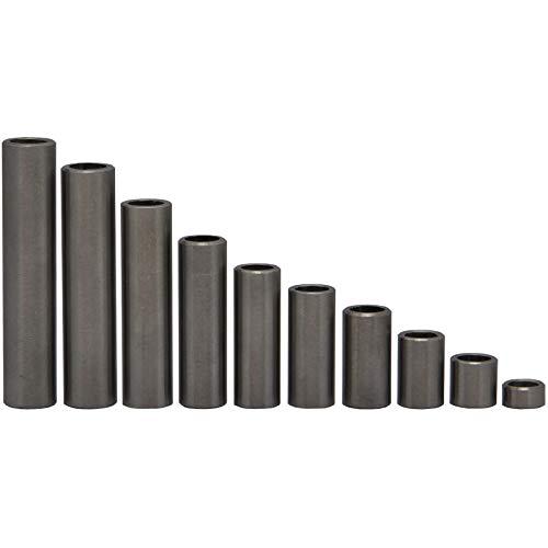 OPIOL QUALITY - Boccola distanziatrice in alluminio (10 pezzi), distanziatore, manicotti per tubi, boccole distanziatrici, distanziatori, supporto per tartaruga, rullo distanziatore