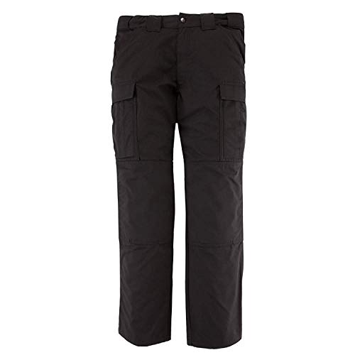 5.11 Tactical Men's Twill TDU Pants, Black, XSmal Long