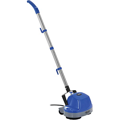 Mini Floor Scrubber W/ Floor Pads, 11' Cleaning Path