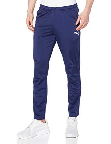 Puma Liga Training Pants Pantalons Homme, Bleu (Peacoat White), S