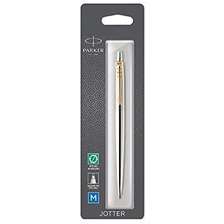 Parker Jotter Stainless Steel Gold Trim Ballpoint Pen (B01DJBHE9G) | Amazon price tracker / tracking, Amazon price history charts, Amazon price watches, Amazon price drop alerts