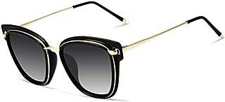 نظارات شمسية عصرية للنساء مستقطبة، حماية من الأشعة فوق البنفسجية بنسبة 100%