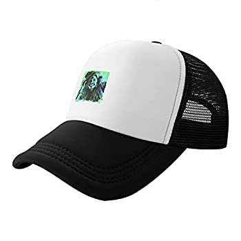 Shenghuihuiqian Steven Tyler Trucker Hat Fashion Baseball Cap Unisex Black