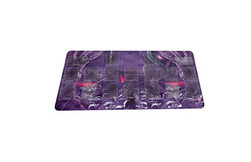 MPCGM Yugioh Zombie World Trading Card Game Playmat Master Rule 4 Link Zone Playmat - Gaming Playmat Board Game Mat TCG OCG Mat
