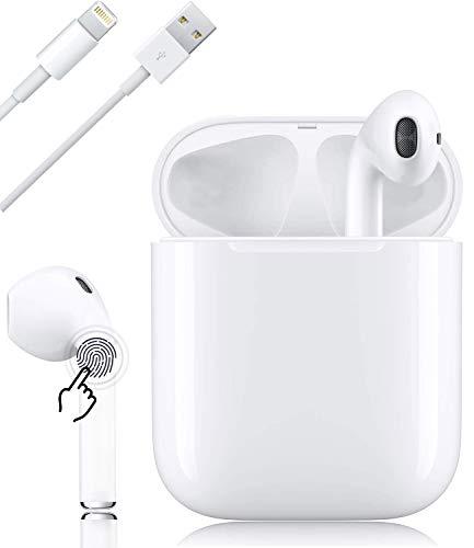 Bluetooth-Kopfhörer, kabellose Touch-Kopfhörer HiFi-Kopfhörer In-Ear-Kopfhörer Rauschunterdrückungskopfhörer, Tragbare Sport-Bluetooth-Funkkopfhörer, Für Android iPhone Airpods Samsung AirPods Pro