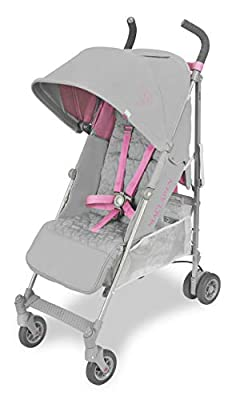 Maclaren Quest Silla de paseo - ligero, para recién nacidos hasta los 25kg, Asiento multiposición, suspensión en las 4 ruedas, Capota extensible con UPF 50+