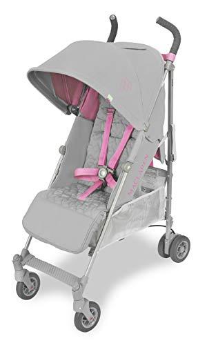Maclaren Quest Silla de paseo - ligero, para recien nacidos hasta los 25kg, Asiento multiposicion, suspension en las 4 ruedas, Capota extensible con UPF 50+