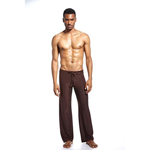 zhouweiwei N2N con el Mismo párrafo Pantalones caseros para Hombres Ropa de...