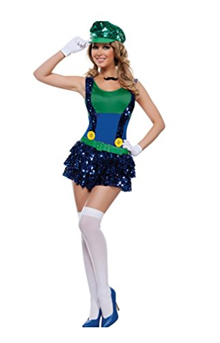 GGTBOUTIQUE sexy blok springen loodgieter kostuum