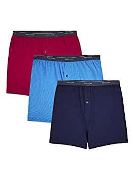 Fruit of the Loom Men s Tall Tag-Free Underwear & Undershirts Big Man-Knit Boxer-3 Pack 3X-Large