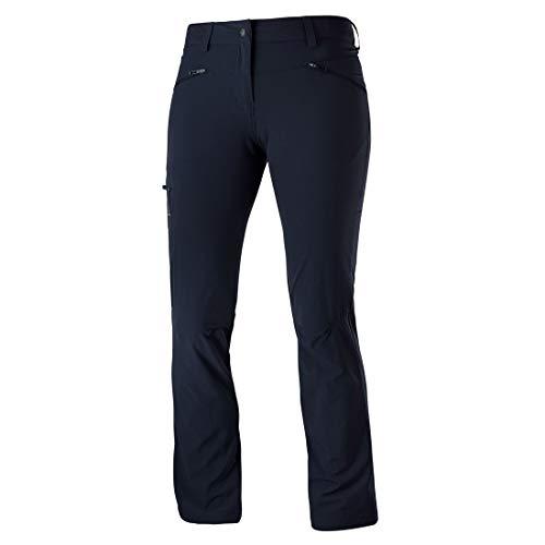 [サロモン] ロングパンツ Wayfarer Straight Pant Women (ウェイファーラー ストレート パンツ レディース) NIGHT SKY 36/S