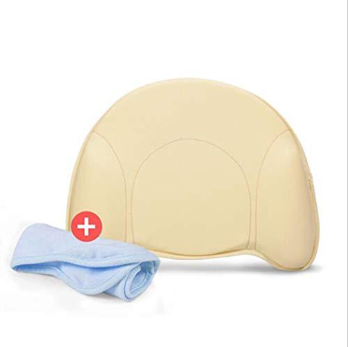 MISS&YG Baby-Kopf Shaping, flachen Kopf Baby Kissen, Flachkopf zu verhindern, können Support-Head & Nackenkissen für Neugeborene und Kleinkind, Memory Foam mit Pillowcase,Removable Pillowcase