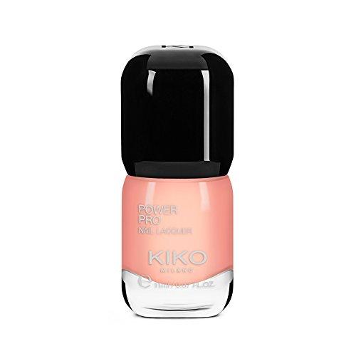 Kiko Milano – Power Pro Nagel Lack salon-quality Nagellack mit Glänzende Farbe für bis zu sieben Tage, aprikose