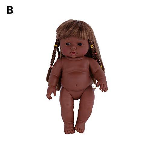 SOWLFE 30 cm Neue silikon Simulation Puppe, weiche gummipuppe Simulation Baby Regeneration Puppe lebensechte neugeborenes Baby Spielzeug für muttertraining
