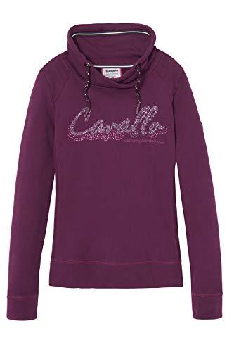 Cavallo ORLINDA Damen Sweatshirt wild Berry HW 19, Ca19_HW_Gr.:44
